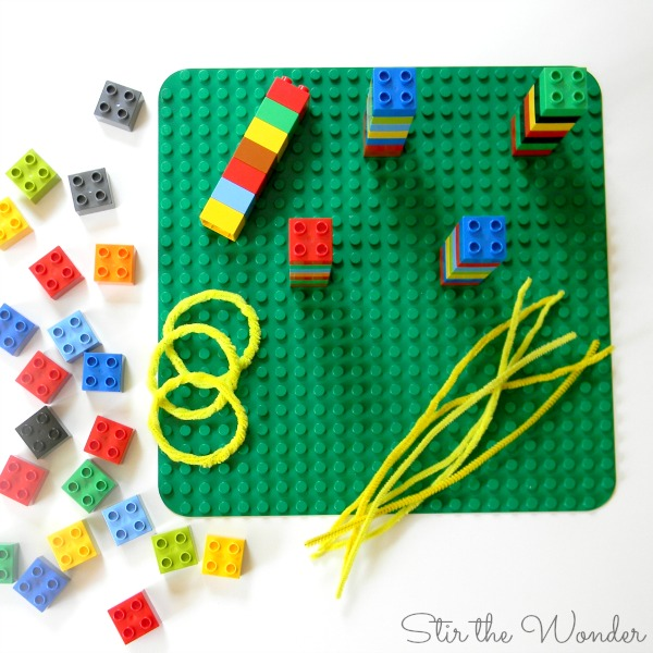 LEGO Duplo Ring Toss Supplies