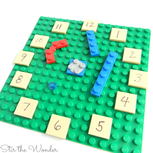 Parts for LEGO Clock Math Manipulative