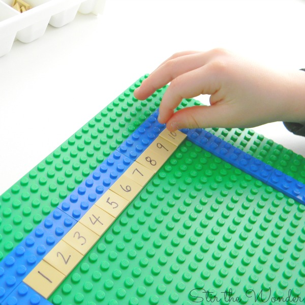 Filling in the LEGO 100 Board