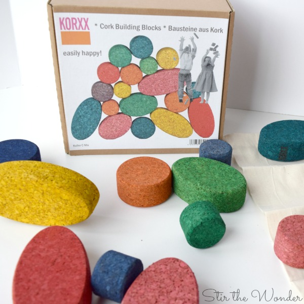 KORXX blocks Kuller set in bright colors