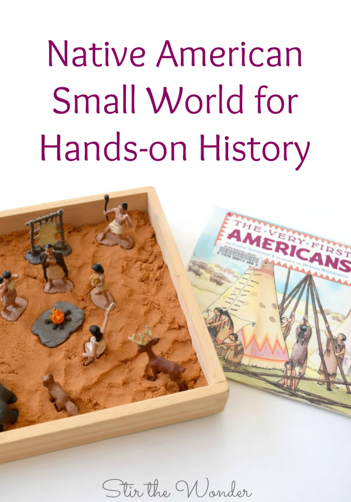 Introduce early American history in a hands-on way with a simple Native American Small World! This is perfect for Kindergarteners who are just starting to understand history!