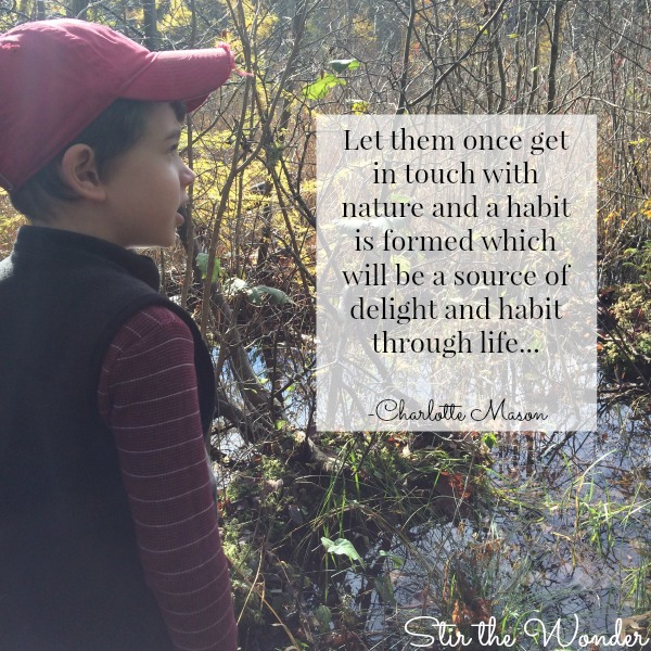 Charlotte Mason Nature Quote