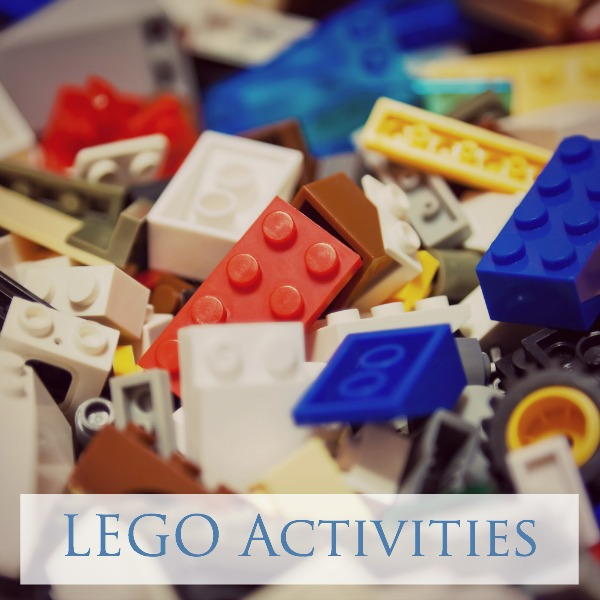 We love LEGO! Here you will find dozens of LEGO activities for play and learning!
