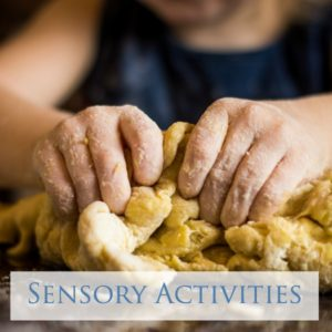 Over 35 Sensory play activities for kids of all ages!
