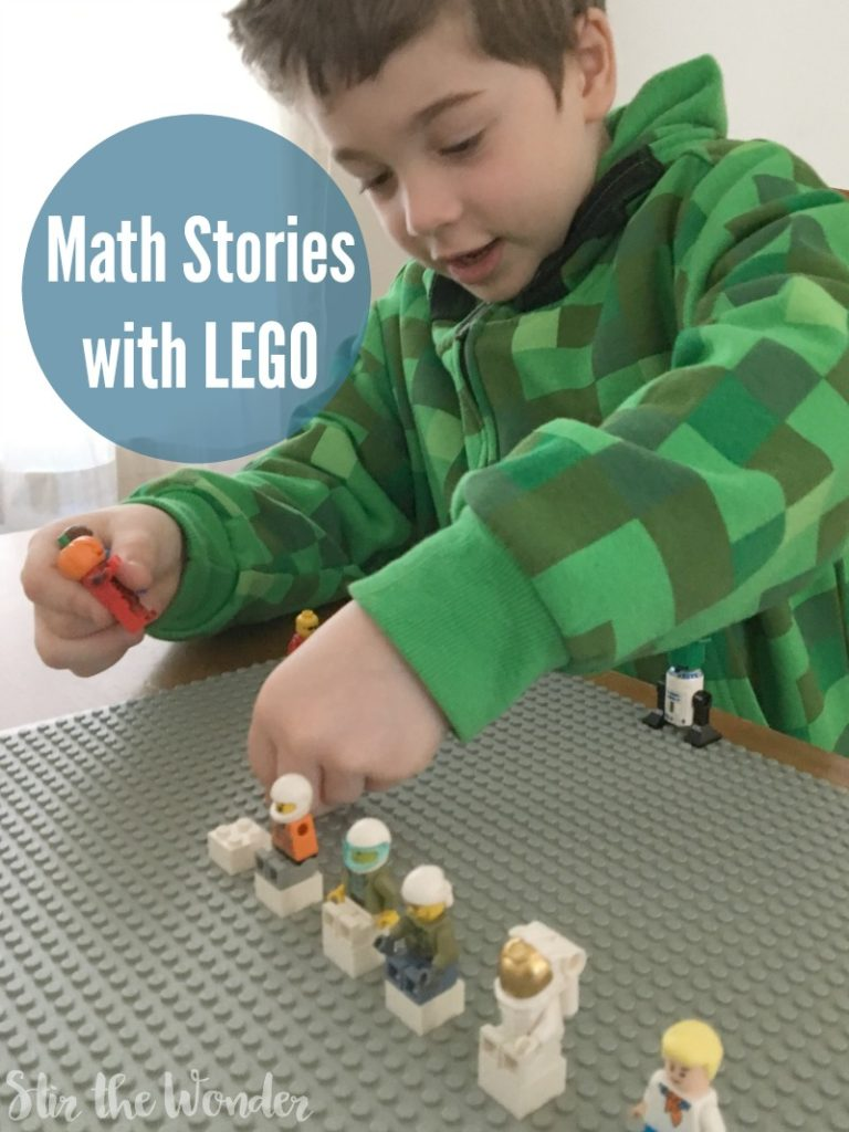 Using LEGO bricks and mini figures with stories to make make come alive for chidlren!