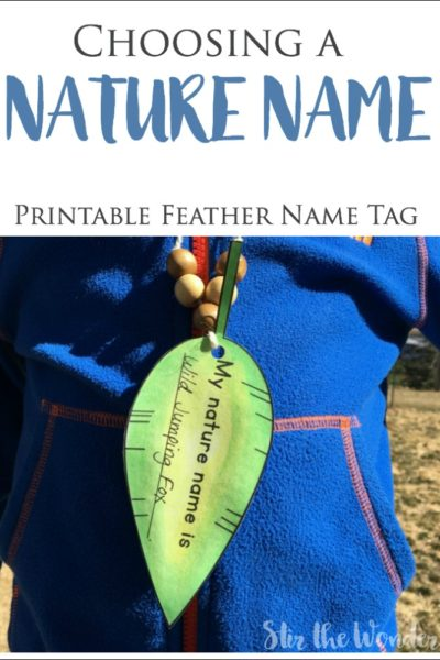 On Being More Authentic and Choosing a Nature Name