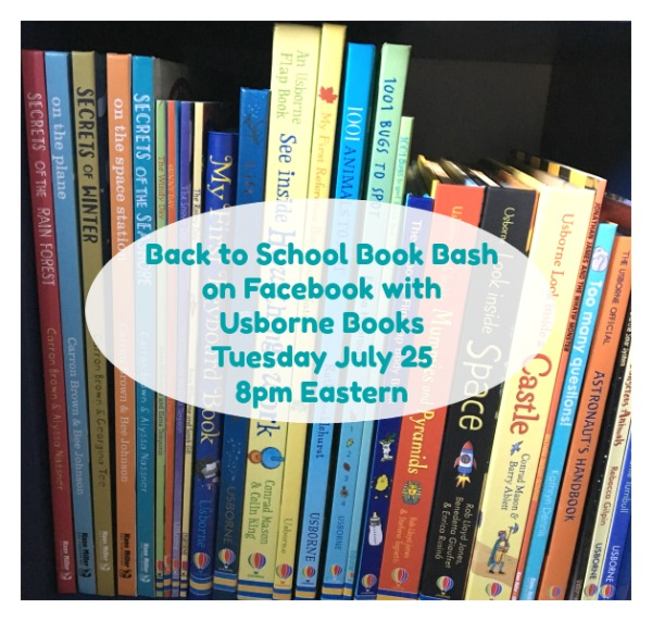 Back to School Book Bash with Usborn Books July 25