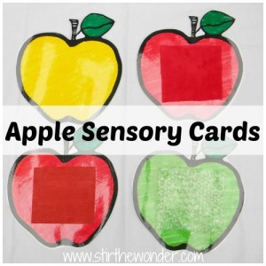 Apple Sensory Cards