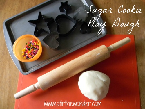Sugar Cookie Play Dough