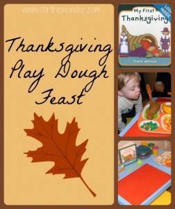 Thanksgivng Play Dough Feast -Stir the Wonder