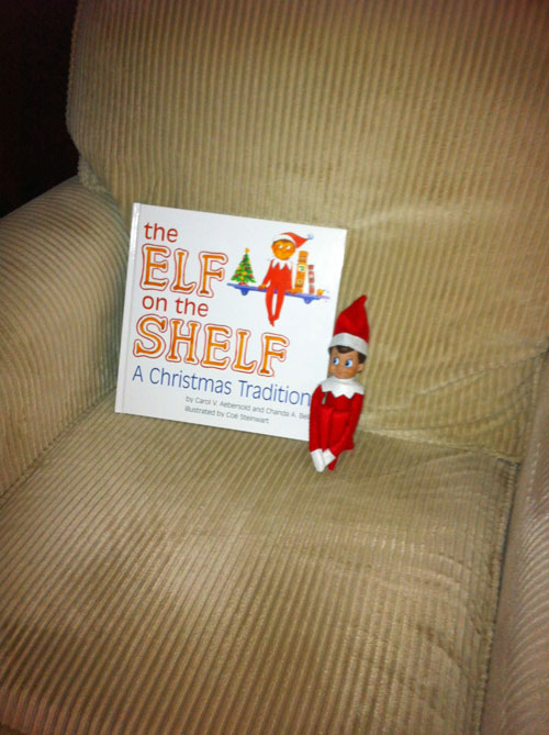 Book-a-Day Christmas Countdown: Day One – The Elf on the Shelf