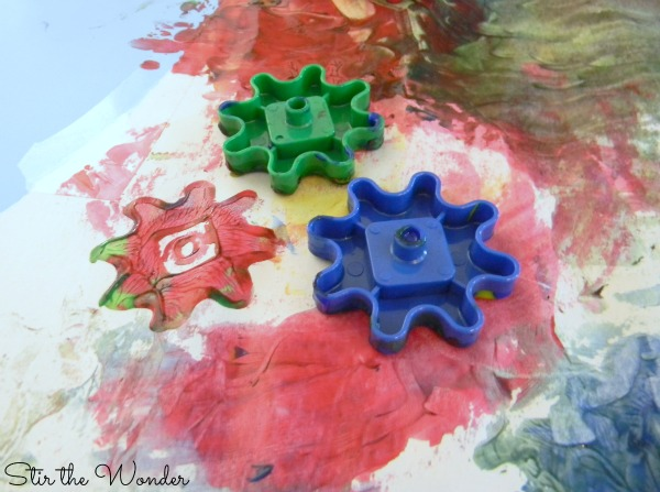Painting & Printmaking with Gears