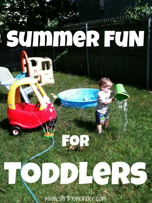 Summer Fun for Toddlers
