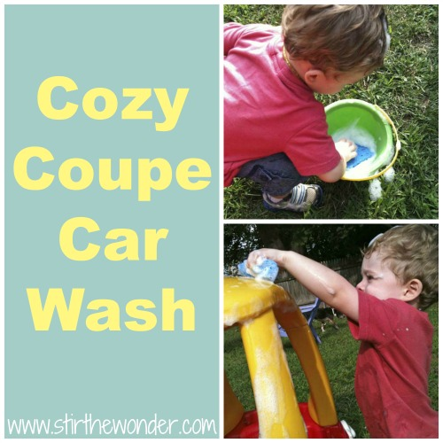 Cozy Coupe Car Wash