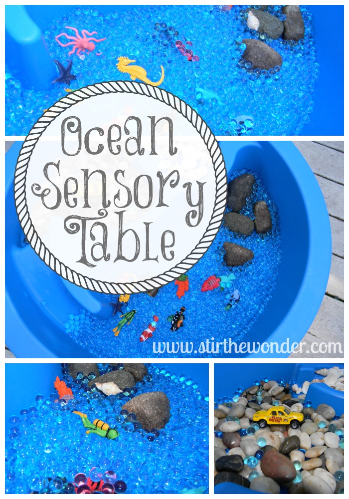 Ocean Sensory Table Stir The Wonder