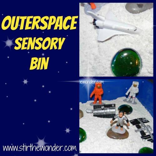 Outerspace Sensory Bin