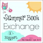 Summer Book Exchange with 30 + bloggers with border