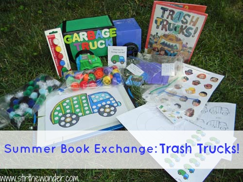 Summer Book Exchange: Trash Trucks