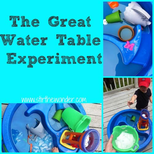 The Great Water Table Experiment