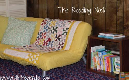 Reading Nook | Stir the Wonder