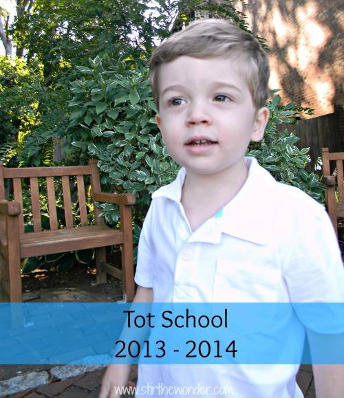 Stir the Wonder | Tot School 2013-2014