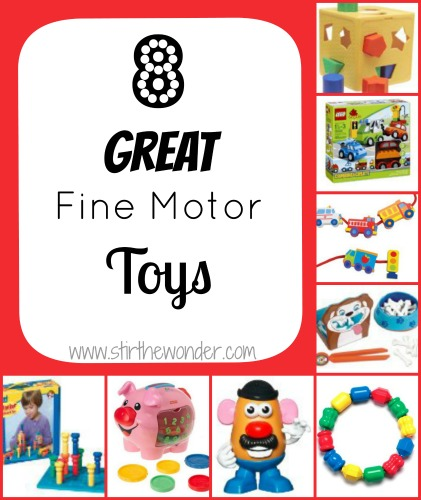 8 Great Fine Motor Toys for Toddlers