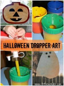 Halloween Dropper Art - Stir the Wonder