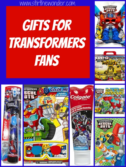 Gifts for Transformers Fans | Stir the Wonder