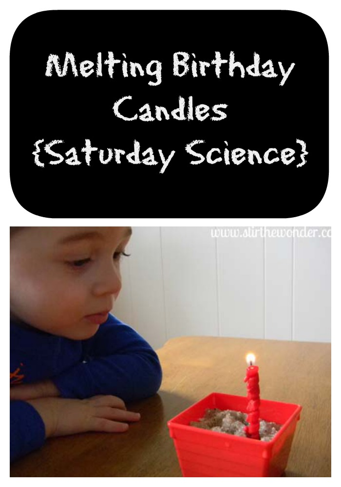 Melting Birthday Candles