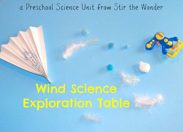 preschool science unit Wind