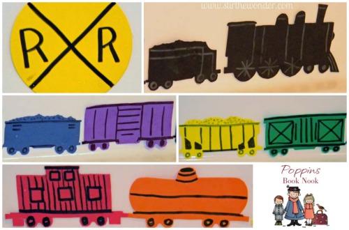 Freight Train Bath Fun | Stir the Wonder