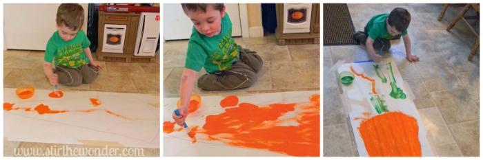 Paint Big Carrot