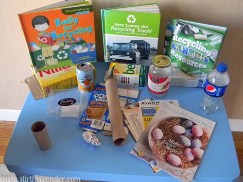 Science Table: Recycling | Stir the Wonder