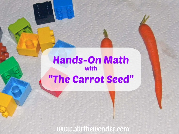Hands-On Math with The Carrot Seed | Stir the Wonder