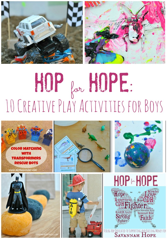 Hop for Hope: 10 Creative Play Activities for Boys