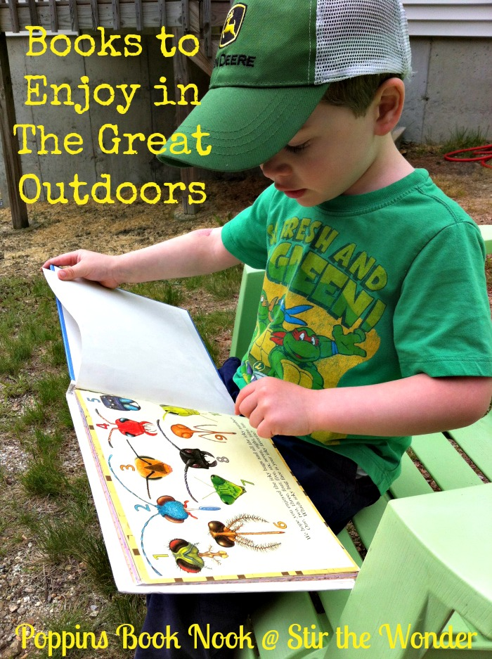 Books to Enjoy in The Great Outdoors: Introduction to June's Poppins Book Nook Theme