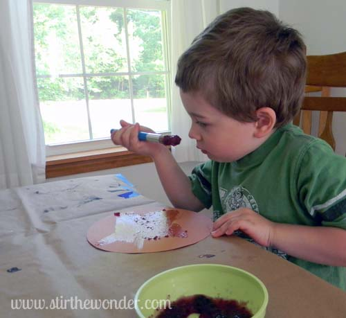 Blueberry painting1