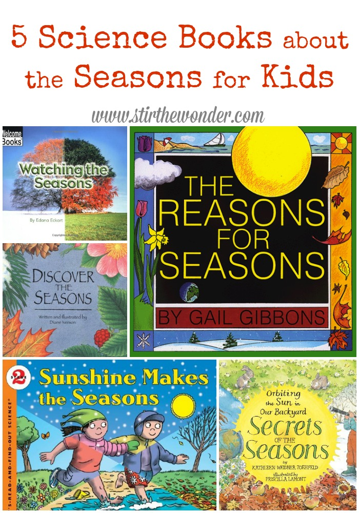 Science Books about the Seasons for Kids