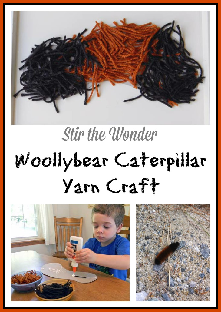 Woollybear Caterpillar Yarn Craft