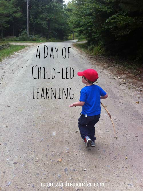 A Day of Child-led Learning