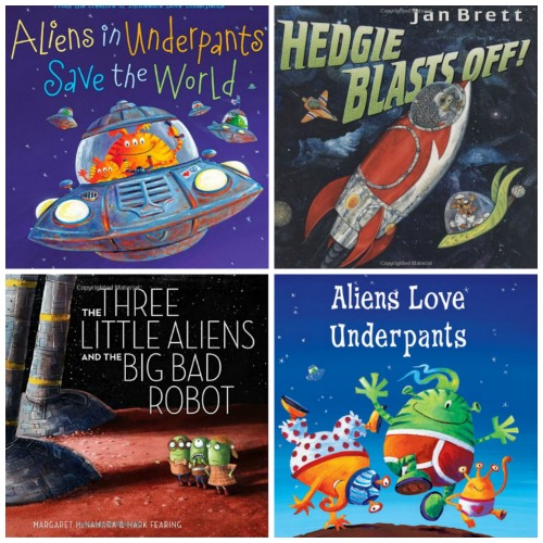 "Children's Books & Activities that go ""Beyond Our Planet"""