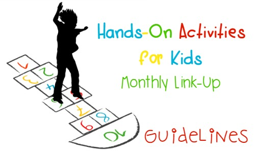 Hands On Activities for Kids Monthly Link Up Guidelines