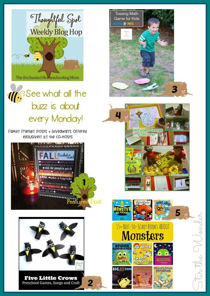 Thoughtful Spot Weekly Blog Hop #57 | Stir the Wonder #kbn #preschool