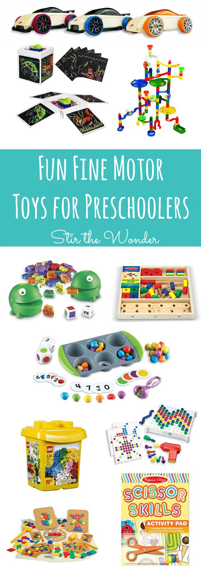 fun fine motor toys for preschoolers stir the wonder
