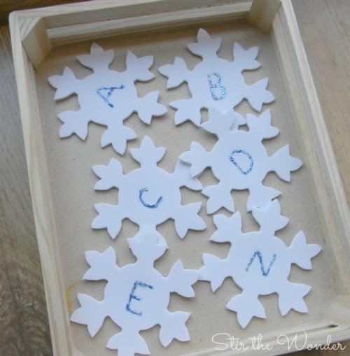 ABC Snowflakes 3