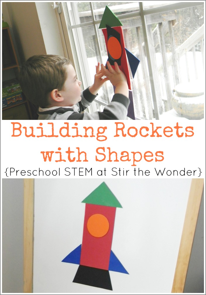 Building Rockets with Shapes