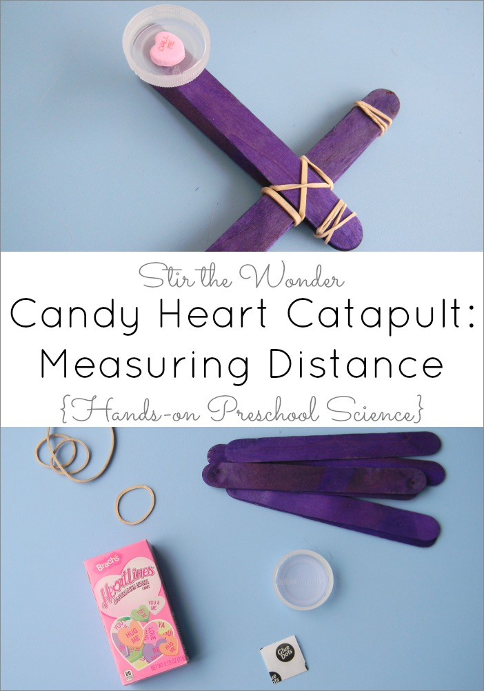 Candy Heart Catapult: Measuring Distance