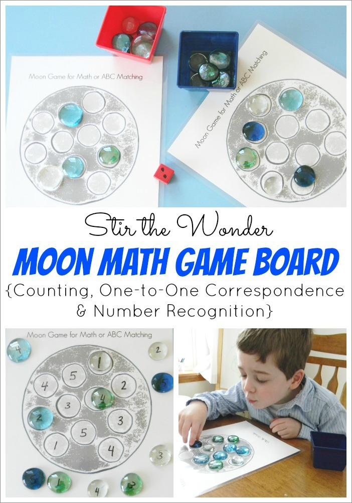 Moon Math Game
