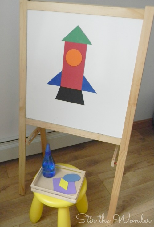 Building Rockets With Shapes Stir The Wonder