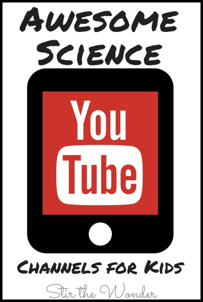 There are so many Awesome Science YouTube channels out there for kids! Here is just a selection of cool channels we have come across! |STEM Saturday at Stir the Wonder